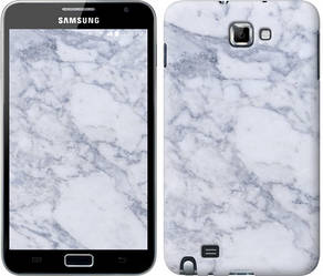 "Чехол на Samsung Galaxy Note i9220 Голубой мрамор ""3062c-316-328"""