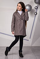 Пальто ТМ Suzie кашемировое для девочки Ария, Размеры 140- 152