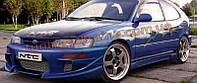 Накладки на пороги для Toyota Corolla 1992-1997