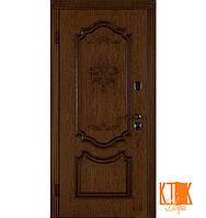 """Входная дверь в квартиру """"Престиж"""" (Дуб тёмный рустикаль + патина/Дуб тёмный рустикаль + патина), фото 1"""
