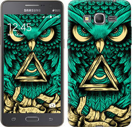 "Чехол на Samsung Galaxy Grand Prime VE G531H Сова Арт-тату ""3971c-212-328"""