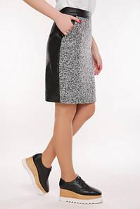 Женская юбка из твида (Tweedfup) Серый