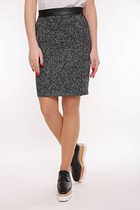 Женская юбка из твида (Tweedfup) Графит.