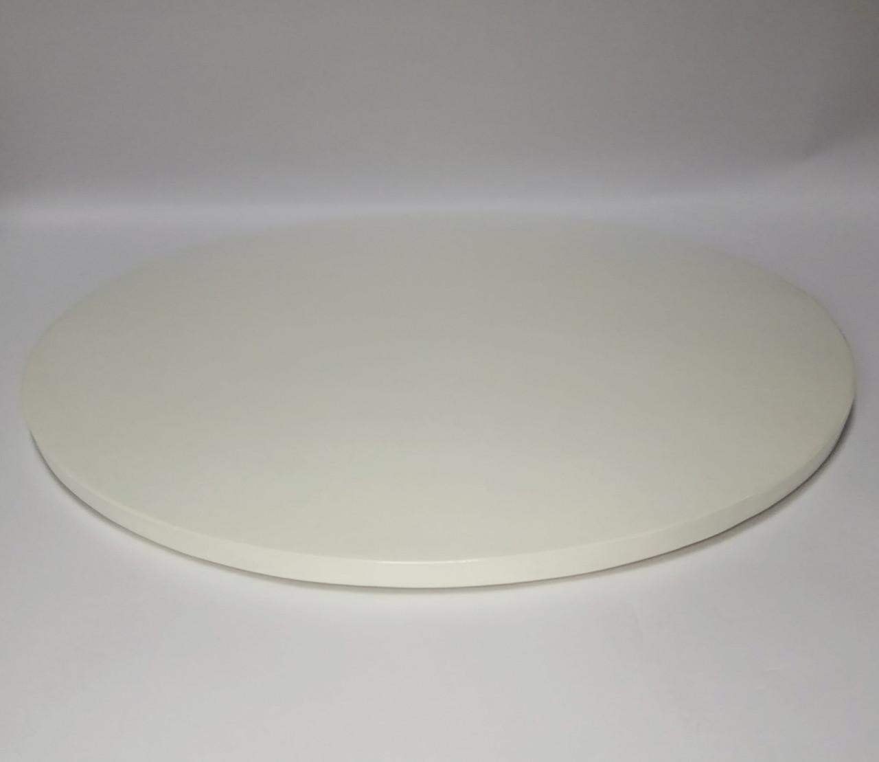 Подложка для торта d 35 см h 0,7 см белая