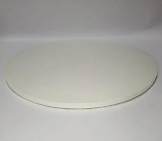 Подложка для торта белая с закрытым торцом d 25 см (усиленная)