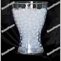 Гидрогель / аквагрунт для растений и декора. Орбиз прозрачного цвета.