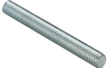 Шпилька резьбовая М5х1000 DIN 975, DIN 976  с левой резьбой | класс прочности 8.8, фото 2