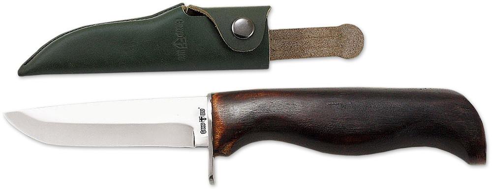Нож нескладной 2355 SWDP (чехол кожа) универсальный нож с фиксированным клинком MHR /08-7
