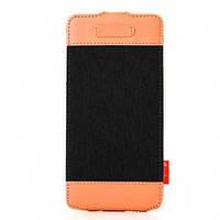 Кожаный Чехол флип Melkco Cru style для iPhone 6+/6S Plus черный, фото 1