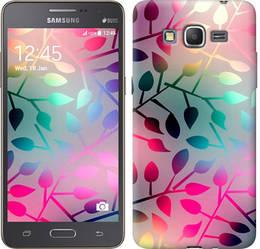 "Чехол на Samsung Galaxy J2 Prime Листья ""2235c-466-328"""