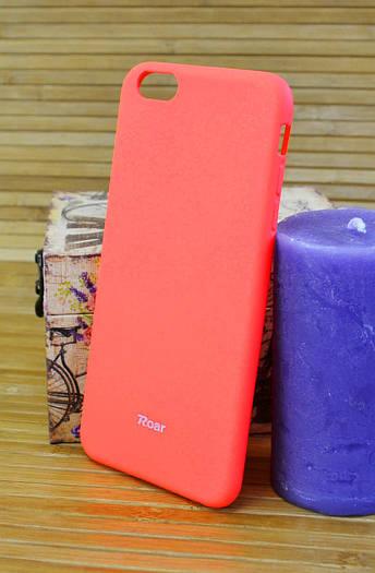 Силиконовый чехол на Айфон, iPhone 6+ ALL DAY оранжевый