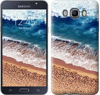 """Чехол на Samsung Galaxy J7 (2016) J710F Берег моря """"3041c-263-328"""""""