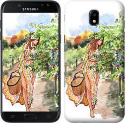 "Чехол на Samsung Galaxy J5 J530 (2017) Девушка Лето ""3528c-795-328"""
