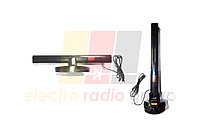 Антенна ТВ комнатная универсальная активная+ USB, AR-605A