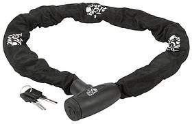 Велозамок под ключ CHAIN LOCK 10 * 10 * 110 цепь 110см 230310