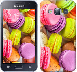 "Чехол на Samsung Galaxy J1 (2016) Duos J120H Макаруны ""2995c-262-328"""