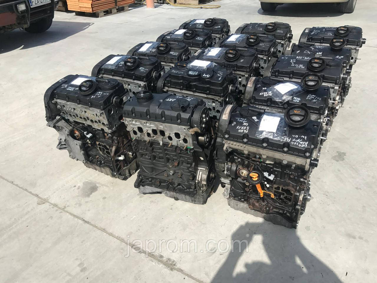 Мотор (Двигатель) AUDI A4 B7 1.9 TDI BRB