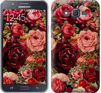 """Чехол на Samsung Galaxy J7 J700H Цветущие розы """"2701c-101-328"""""""