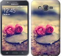 """Чехол на Samsung Galaxy J7 J700H Две розы """"698c-101-328"""""""