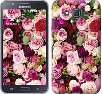 """Чехол на Samsung Galaxy J7 J700H Розы и пионы """"2875c-101-328"""""""