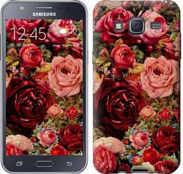 """Чехол на Samsung Galaxy J5 (2015) J500H Цветущие розы """"2701c-100-328"""""""