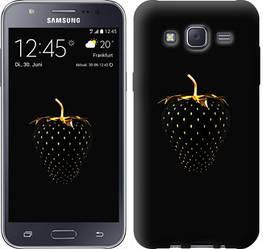 "Чехол на Samsung Galaxy J5 (2015) J500H Черная клубника ""3585c-100-328"""