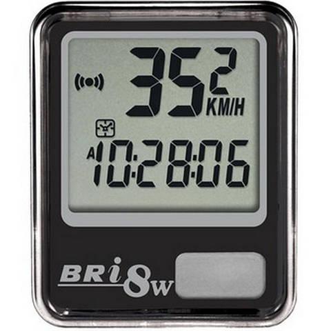 Велокомпютер спідометр Echowell BRI-8W 8-функцій безпровідний чорний 804757