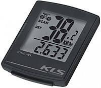 Велокомпютер спідометр KLS RIDE WL 16-функцій безпровідний чорний 99000221