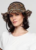Шляпа мужская Scotch&Soda цвет сине-бежевый размер Универсальный арт 72102