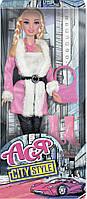 Набор с куклой Ася Городской стиль. Блондинка с косичками (35069)