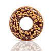 Надувной круг для плавания «Шоколадно-ореховый пончик»