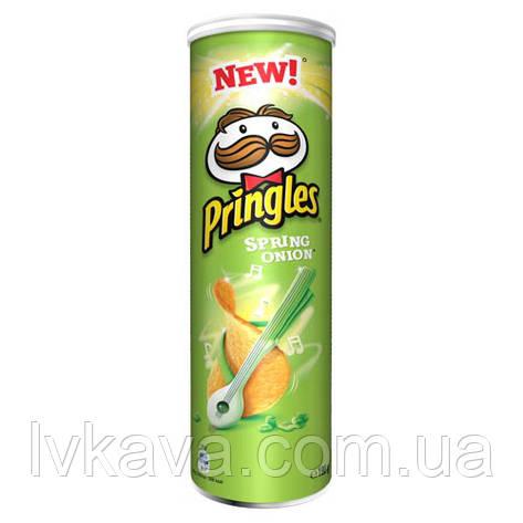 Чипсы  Pringles Spring Onion, 165 гр, фото 2