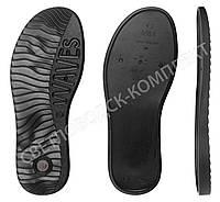 Подошва для обуви JB 5353, цв. чёрный 40