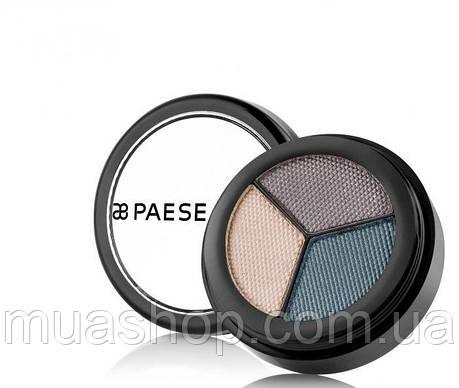 Тени для век Опал Перламутровые (236) Opal Eyeshadows Trio Perl. Silk Paese, фото 2