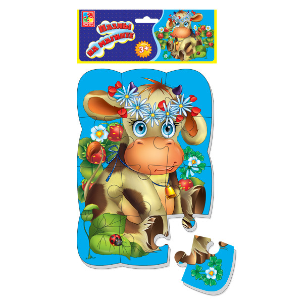 Пазл на магните «Коровка» Vladi Toys VT3205-33