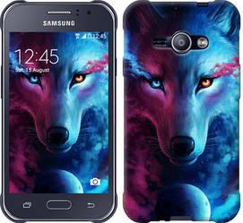 "Чехол на Samsung Galaxy J1 Ace J110H Арт-волк ""3999c-215-328"""