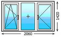 Деревянные окна с энергосберегающими стеклопакетами