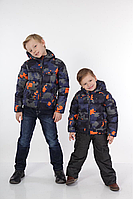Стильная Зимняя Куртка Для Мальчика С Принтом Маинкрафт DB kids,Италия  Размер164 см