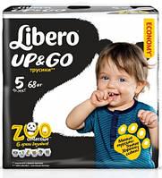 Трусики Libero Up&Go 5 Maxi Plus (10-14 кг) 68 шт Giga Pack 7322540591866