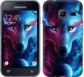 """Чехол на Samsung Galaxy J1 Mini J105H Арт-волк """"3999c-258-328"""""""