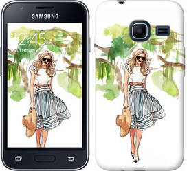"""Чехол на Samsung Galaxy J1 Mini J105H Девушка арт 2 """"3527c-258-328"""""""