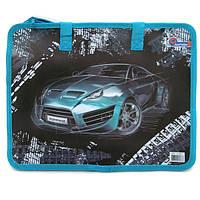 """S1821 Сумка с ручками """"Racing car"""" 26*32см"""