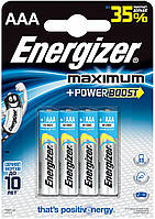 Батарейки ENERGIZER MAXIMUM LR03(AAA)