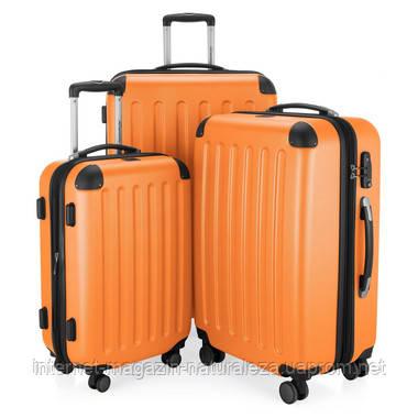 Набор чемоданов Hauptstadtkoffer Spree оранжевый 3 штуки