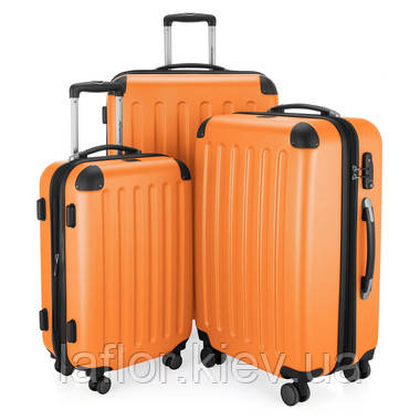 Набор чемоданов Hauptstadtkoffer Spree оранжевый 3 штуки, фото 2
