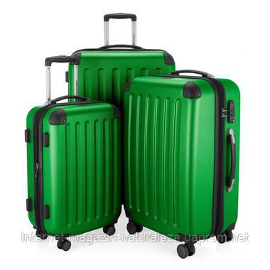 Набор чемоданов Hauptstadtkoffer Spree зеленый 3 штуки