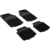 Набор универсальных ковриков Auto Assistance 3021 черные