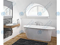 Мраморная ванна MARMORIN 156*73 Alta (647 156 020 xx x)