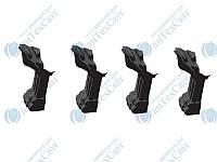 Ножки MARMORIN для ванны Fama (566 016 xx x) черные, фото 1
