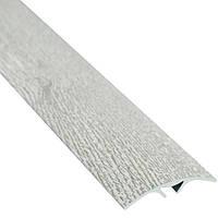 Профиль алюминиевый декоративный 40 мм 2.7 м дуб полярный